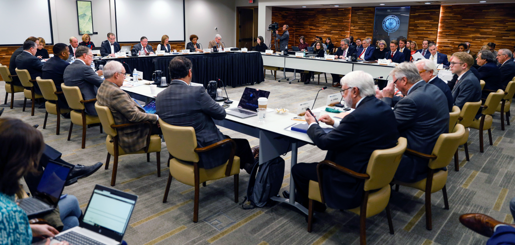 Board of Governors Meeting, January 2020